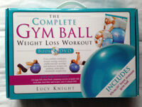 The Complete Gym Ball Weight Loss Workout Book & DVD by Lucy Knight
