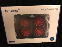 LED Laptop Cooling Pad Brand New In Box