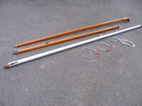 MIRROR DINGHY COMPLETE MAST WITH RIGGING