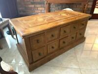 Antique vintage Marble wood Chest of drawers Furniture high quality M&S