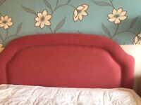 Headboard for a double bed