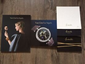 Van Cleef & Arpels and Annushka collection catalogs