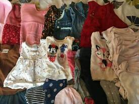 Baby girls clothes aged 3 to 6 months