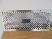 BMW R1200GS stainless steel oil cooler guard