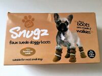 New Boxed Dog Boots