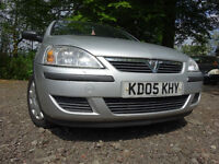 05 VAUXHALL CORSA 1.2 TWIN PORT 5 DOOR,MOT JAN 018,PART HISTORY,2 OWNERS FROM NEW,VERY LOW MILEAGE!!