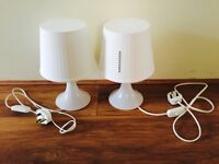 Table lamp x2