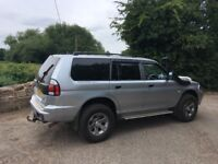 2006 Mitsubishi Shogun Sport 2.5 Diesel Low Mileage Many Extras Same Owner Long Time