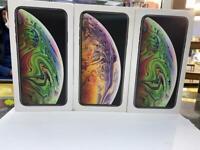 iPhone Xs 64GB brand new box 1 year apple warranty open on all sim