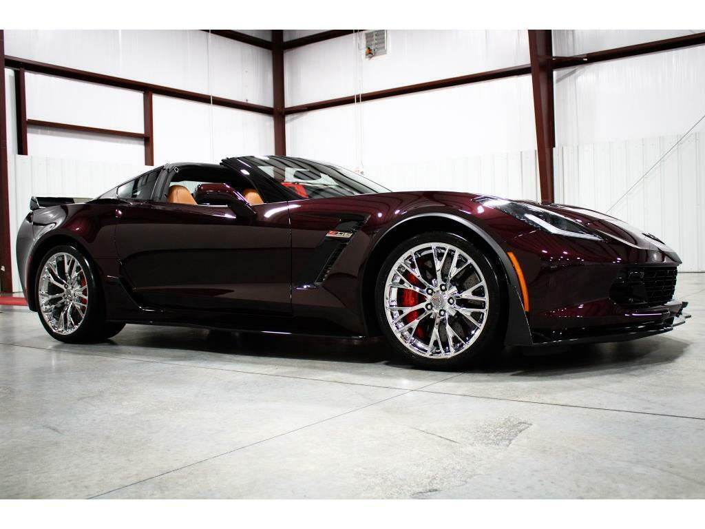 2017 Black Chevrolet Corvette Z06 2LZ | C7 Corvette Photo 7