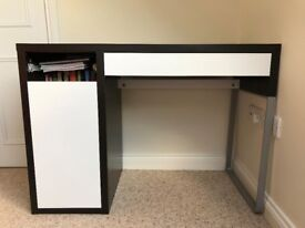 IKEA MICKIE Small office desk with storage