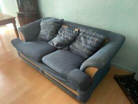 Free comfortable sofa 2 + 1