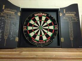 Nearly New darts board