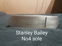 Stanley Bailey 4 and 5 +102 woodplanes