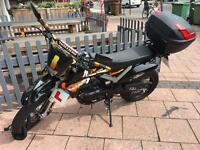 PULSE ADRENALINE 125cc MOTORBIKE / CYCLE