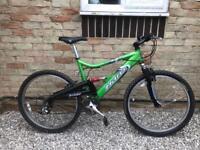 Haro extreme full suspension mountain bike