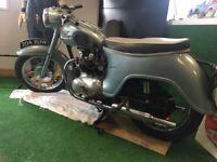 1960 triumph 3ta motorbike