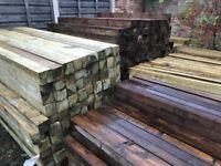 Timber post 4x4 3x3