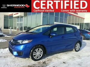 2015 Honda Fit LX| 3M| WINTER READY| BT| BACK CAM| HEATED SEATS