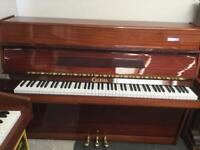 Upright Piano CALISIA 3 Pedal Model (FREE LOCAL DELIVERY TN15 KENT) Serviced and Tuned
