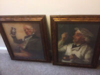 Nice Pair Antique style Large Picture frames
