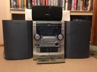 Aiwa Speakers Sounds system radio