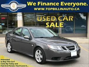 2008 Saab 9-3 Sport Leather, Only 123K kms