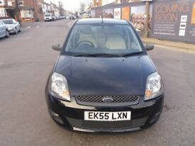 1.6 FORD FIESTA GHIA 2005 YEAR AUTO 37000 MILES MOT 18/10/18 HISTORY 3 MONTHS WARRANTY LOW MILEAGE
