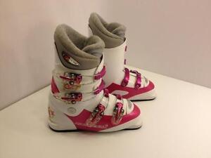 Rossignol Comp J IV girl's ski boots, size 23.5 Mondo