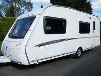 * 6- BERTH SWIFT CARAVAN WITH MOTOR MOVER, GREAT LAYOUT, FIXED BUNKS*