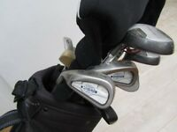 Left handed golf clubs. Can be bought as a set or individually.