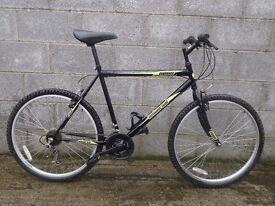 mens bike black neon universal 26''