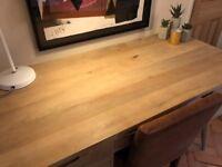 Solid mango wood vintage desk