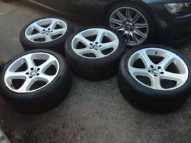 "BMW X5 Genuine 20"" alloys with tyres"