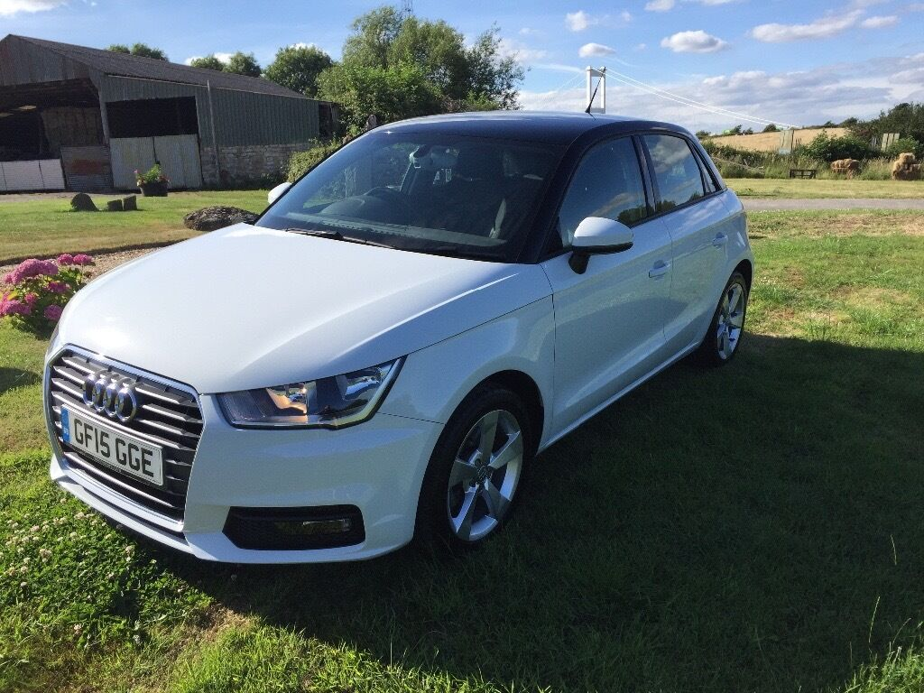 audi a1 sportback 1 4 tfsi sport 5dr s tronic in pearl white in gloucestershire gumtree. Black Bedroom Furniture Sets. Home Design Ideas