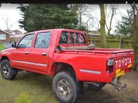 Toyota hilux used condition but tidy 12 months mot