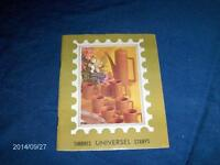 UNIVERSEL STAMPS-TIMBRES-BOOKLET-1960/70S-NO STAMPS-VINTAGE!