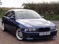 BMW E39 530d M Sport Saloon, Manual, 2002, 1 Year MOT, 167k Miles