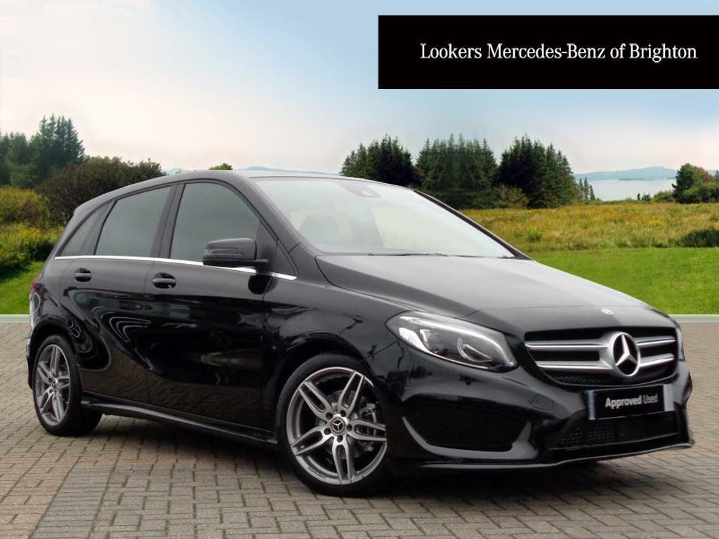 Mercedes benz b class b 200 d amg line premium black for Mercedes benz account
