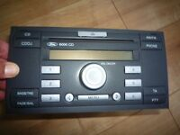 FORD 6000 CD PLAYER FOCUS FIESTA FUSION TRANSIT + CODE