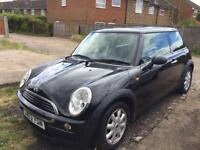 Black Mini One for sale low mileage