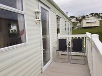 Deluxe 2bedroom caravan for hire at Haven Craig Tara