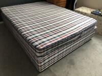 Matching Divan Double Bed and mattress in good condition