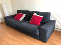 Selling a Three-seat sofa KIVIK from Ikea, mint condition.