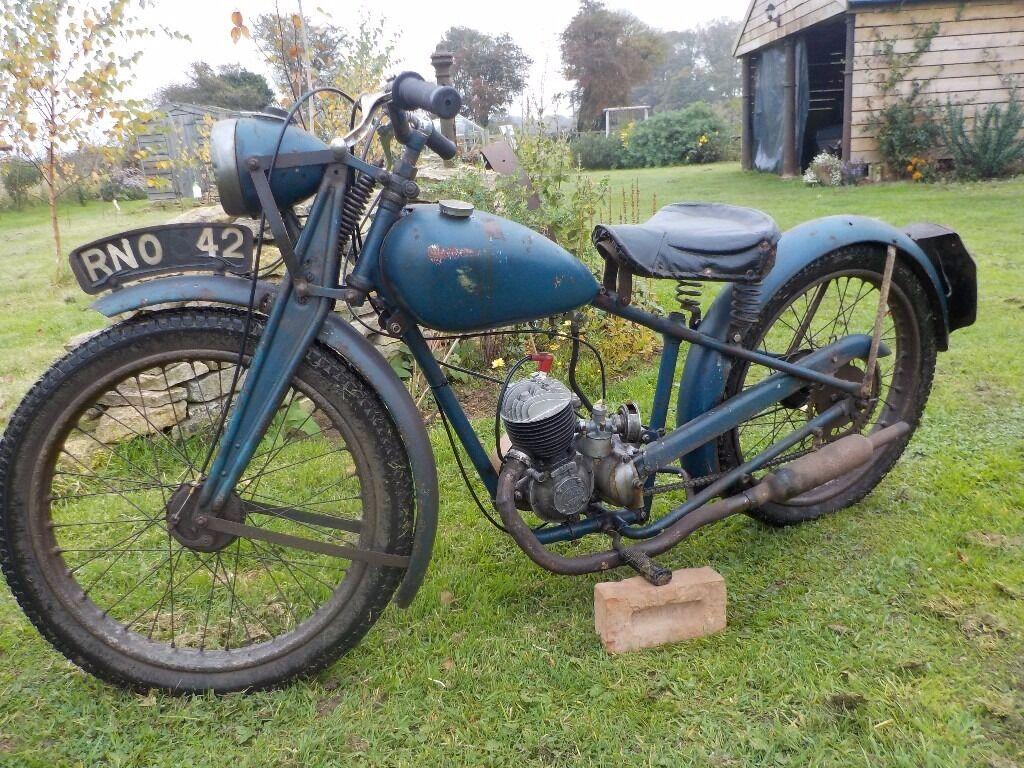 Sun motorcycle not hornet not bsa villiers james in for Villiers 86