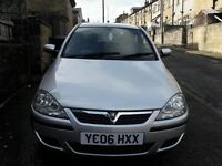 Vauxhall Corsa SXi+ 2006 3dr Silver - V.good condition - 8 months MOT