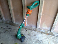 Black and decker strimmer in very good condition