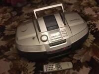 CD/Cassette/Radio player
