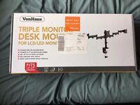 VonHaus Triple Monitor Stand/Mount