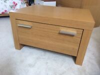 Next double bed, bedside tables and chest of drawers for sale